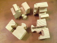 Scroll Saw Puzzle Cubes tutorial