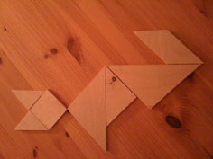 Wooden Tangram project