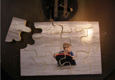 Lovable Wooden Picture Puzzle