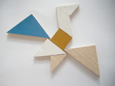wooden tangram tutorial