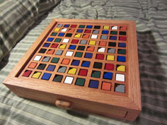Color-Based Wooden Sudoku Board