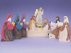 Nativity Scene Puzzle Set