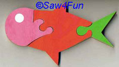 Puzzle Scroll Saw Pattern