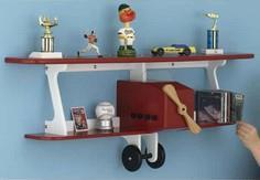 Plane-fun Kid's Shelf Woodworking