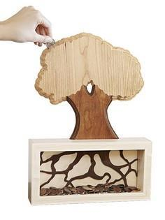 Money Tree Coin Bank Woodworking