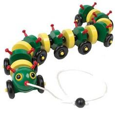 Tug-along Caterpillar Woodworking