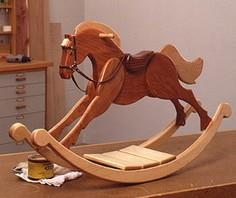 Playroom Palomino Rocking Horse