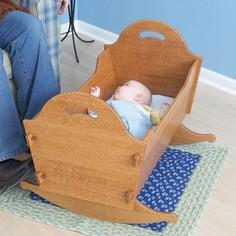 Heirloom Cradle with Storage Box