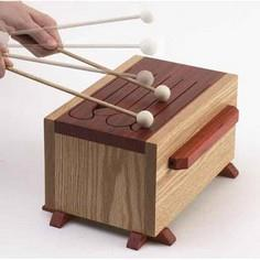 Tone-of-fun tongue drum Woodworking