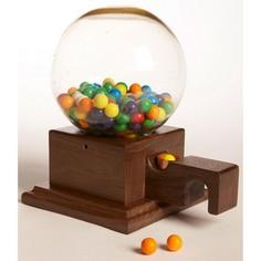 Glass-Globed Gumball Machine