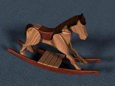 Rocking Horse Plans - Furniture