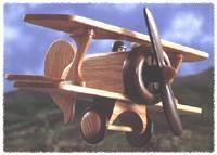 Biplane Woodworking Plan from WOOD